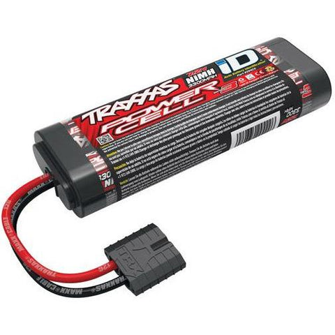 TRAXXAS BATTERY, SERIES 3 POWER CELL, 3300MAH (NIMH) (2942X