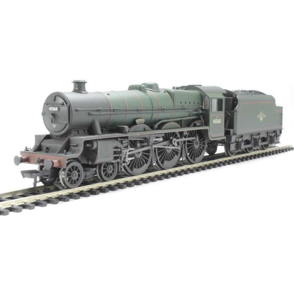 BRANCHLINE Jubilee 45565 'Victoria' BR Lined Green Late Crest Weathered