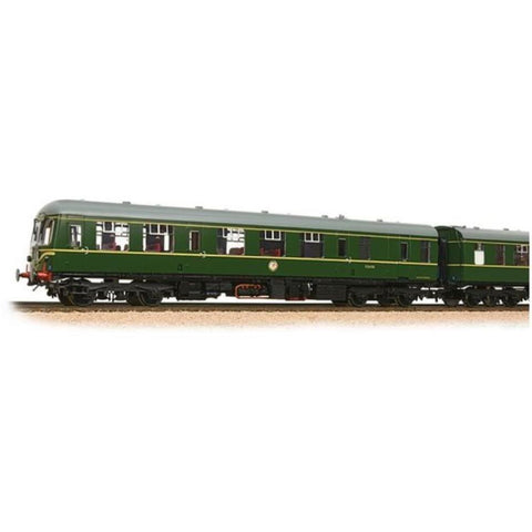 BRANCHLINE Class 105 2 Car DMU BR Green With Speed Whiskers with Passenger Figures