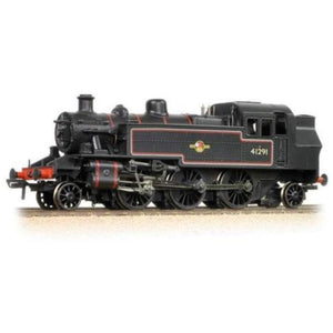 BRANCHLINE Ivatt Class 2MT 2-6-2 Tank 41291 BR Lined Black L/Crest (DCC On Board)