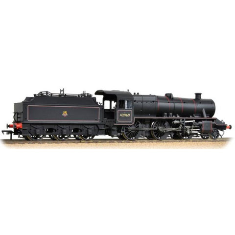 BRANCHLINE OO LMS Stanier Mogul 42969 BR Lined Black