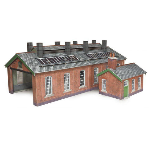 METCALFE Double Track Engine Shed HO Scale