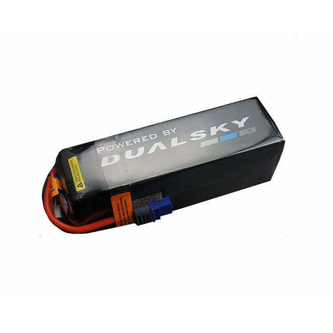 Image of DUALSKY 4350mah 6S HED Lipo Battery, 50C