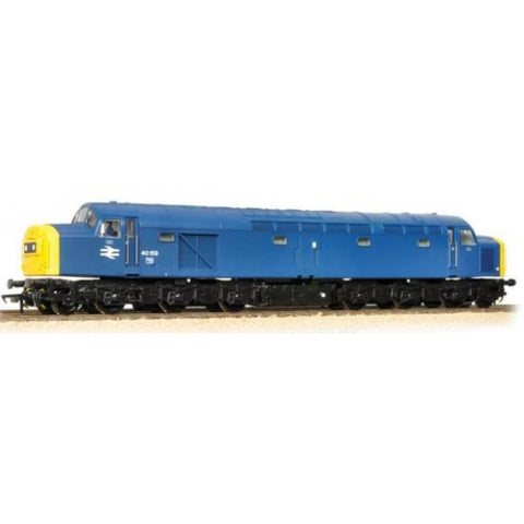 BRANCHLINE Class 40 40159 BR Blue Domino Head Code Full Yellow Ends - Hearns Hobbies Melbourne - BRANCHLINE