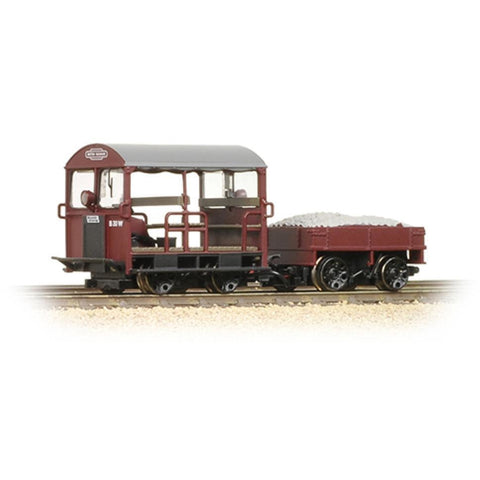BRANCHLINE Wickham Type 27 Trolley Car BR Maroon