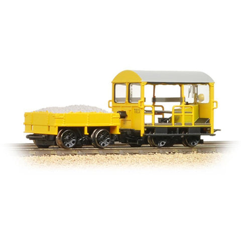 BRANCHLINE Wickham Type 27 Trolley Car BR Engineers Yellow
