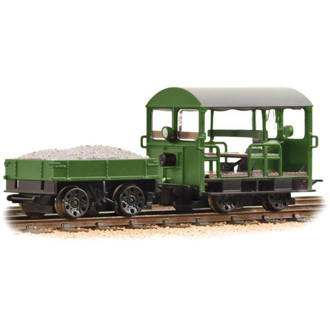 BRANCHLINE Wickham Type 27 Trolley Car Green (32-994)