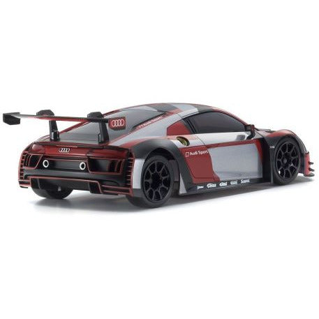Image of KYOSHO Mini-Z RWD MR-03 Readyset Audi R8 LMS 2016 Grey/Red