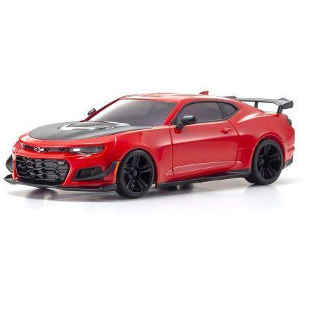Image of KYOSHO Mini-Z MR-03 Readyset Chevrolet Camaro ZL1 1LE Red Hot w/ LED