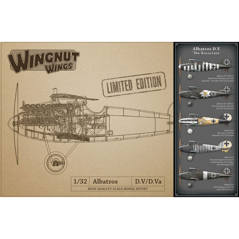 WINGNUT WINGS 1/32 Albatros D.V The Bavarians