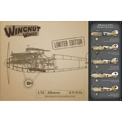WINGNUT WINGS 1/32 Albatros D.Va Wooden Wonders