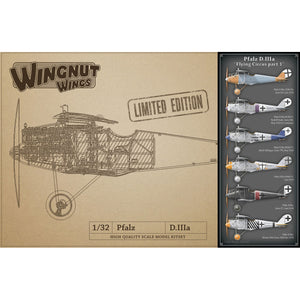 WINGNUT WINGS 1/32 Pfalz D.IIIa Flying Circus Part 1