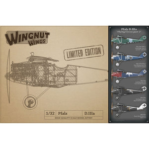 WINGNUT WINGS 1/32 Pfalz D.IIIa Flying Circus Part 2