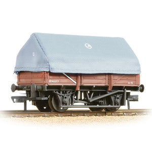 BRANCHLINE 5 Plank China Clay Wagon with Hood BR Bauxite Weathered (33-085A)