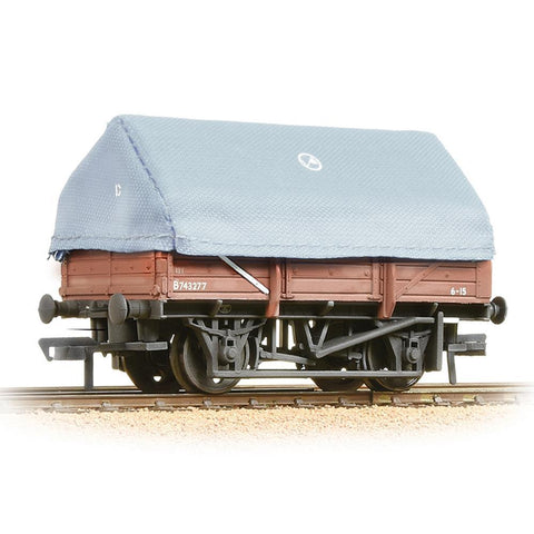 BRANCHLINE OO 5 Plank China Clay Wagon with Hood BR Bauxite