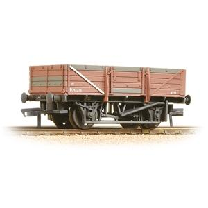 BRANCHLINE OO 5 Plank China Clay Wagon No Hood BR Bauxite
