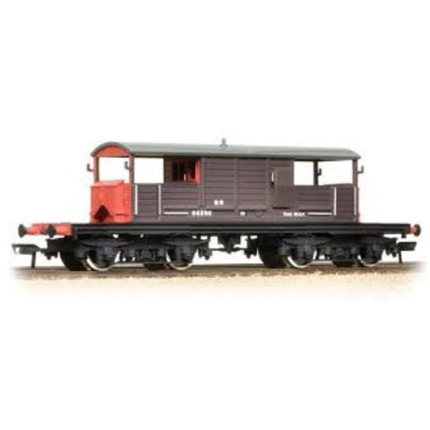 BRANCHLINE 25 Ton Queen Mary Brake Van SR Brown Small Lettering