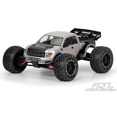 PROLINE Ford F-150 SVT Raptor Clear Body for 1:16 REVO?