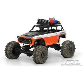 PROLINE 1973 Bronco Clear Body for Axial Wraith