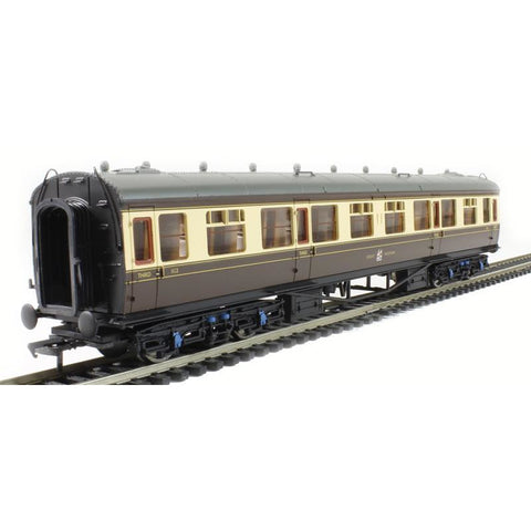 Image of BRANCHLINE OO BR 60ft. Collett 3rd Corridor GWR Chocolate &