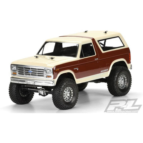 "PROLINE 1981 Ford Bronco Clear Body for 12.3"" (313mm) Wheel"