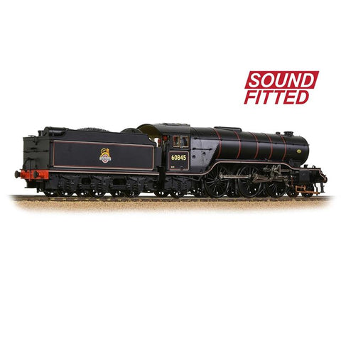 BRANCHLINE OO LNER V2 60845 BR Lined Black (Early Emblem) Sound Fitted