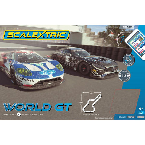 SCALEXTRIC ARC AIR World GT Race Set
