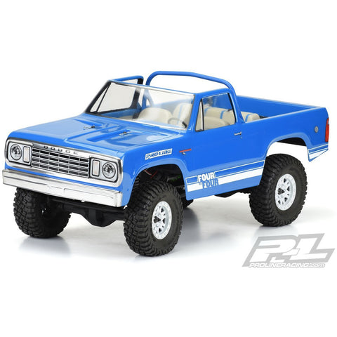PROLINE 1977 Dodge Ram Charge Clear Body for (313mm) Crawlers