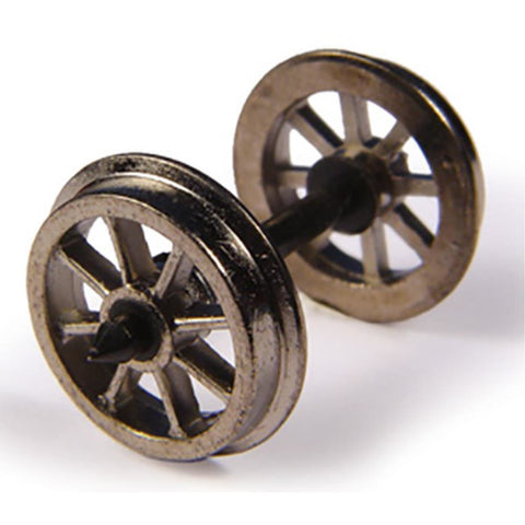 BRANCHLINE Metal Spoked Wagon Wheels (x10) - Hearns Hobbies Melbourne - BRANCHLINE