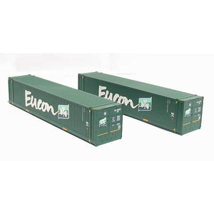 BRANCHLINE 45ft Containers 'Eucon' (x2)