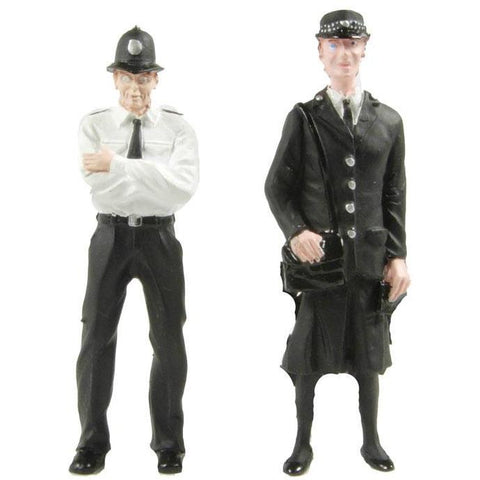 BACHMANN G scale Police and Security Staff Figures 1/22.5