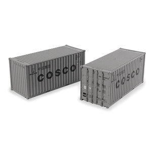 Image of BRANCHLINE OO 20ft Containers'Cosco' (x2)