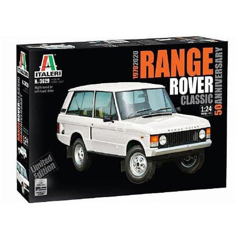 ITALERI 1/24 Range Rover Classic – Limited Edition 50th Anniversary Numbered Hologram