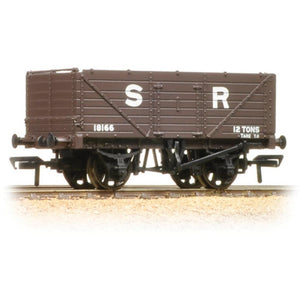 BRANCHLINE 7 Plank End Door Wagon SR Brown