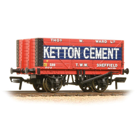 BRANCHLINE OO 8 Plank End Door Wagon 'Ketton Cement' (37-13