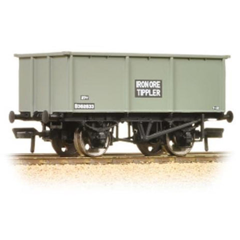 BRANCHLINE 27 Ton Steel Tippler Wagon BR Grey 'Iron Ore'