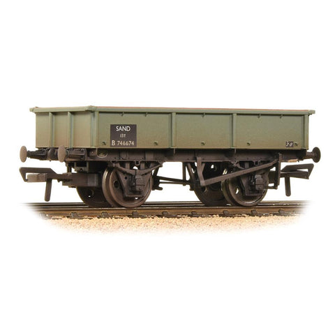 BRANCHLINE 13 Ton Steel Sand Tippler Wagon BR Grey Weathered (37-353B)