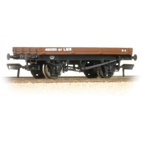 BRANCHLINE OO 1 Plank Wagon LMS Bauxite