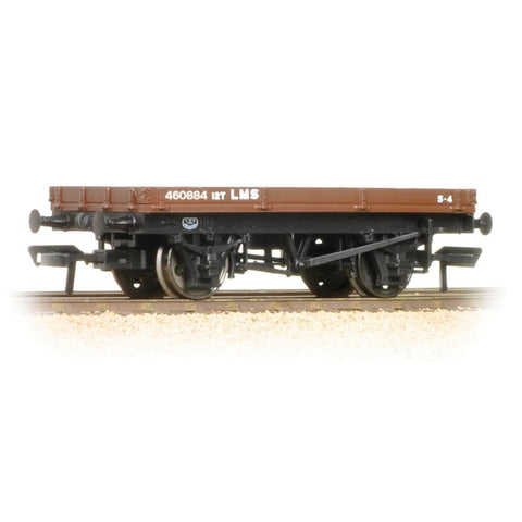 BRANCHLINE OO 1 Plank Wagon LMS Bauxite (37-478A)
