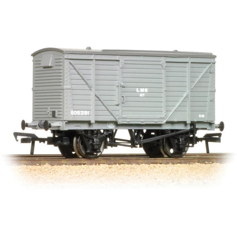 BRANCHLINE 12 Ton Planked Ventilated Van LMS Grey - Hearns Hobbies Melbourne - BRANCHLINE