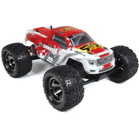 ARRMA GRANITE BLX (RED) MONSTER TRUCK WITHOUT BATTERY & CHARGER - Hearns Hobbies Melbourne - ARRMA - 1