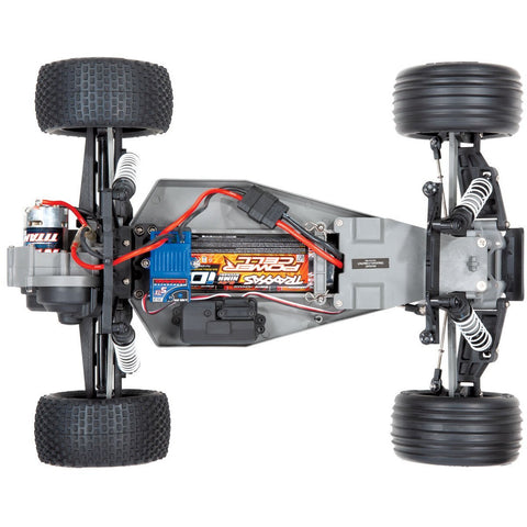 Image of TRAXXAS 1/10 Rustler 2WD Stadium Truck, RTR, 12 Turn 550 Modified