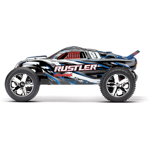 TRAXXAS 1/10 Rustler 2WD Stadium Truck, RTR, 12 Turn 550 Modified