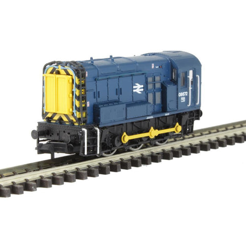 GRAHAM FARISH Class 08 08672 BR Blue Wasp Stripes : Available - Hearns Hobbies Melbourne - GRAHAM FARISH