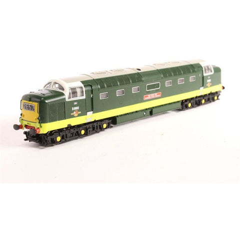 GRAHAM FARISH Class 55 D9002 'The Kings Own Yorkshire Light Infantry' BR Green - Hearns Hobbies Melbourne - GRAHAM FARISH