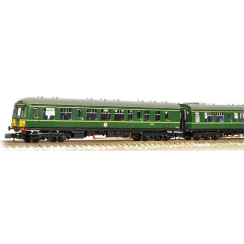 GRAHAM FARISH Class 108 2 Car DMU BR Green Small Yellow Panel - Hearns Hobbies Melbourne - GRAHAM FARISH