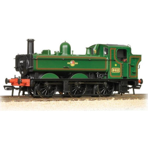 GRAHAM FARISH Class 64xx 0-6-0 Pannier Tank 6412 BR Lined Green Late Crest - Hearns Hobbies Melbourne - GRAHAM FARISH
