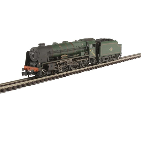 GRAHAM FARISH Rebuilt Royal Scot 46122 'Royal Ulster Rifleman' BR Green L/C Weathered