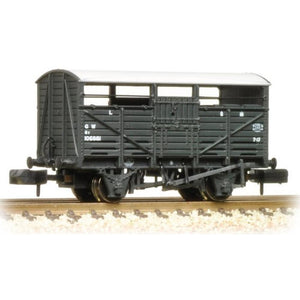GRAHAM FARISH 8 Ton Cattle Wagon GWR Dark Grey - Hearns Hobbies Melbourne - GRAHAM FARISH