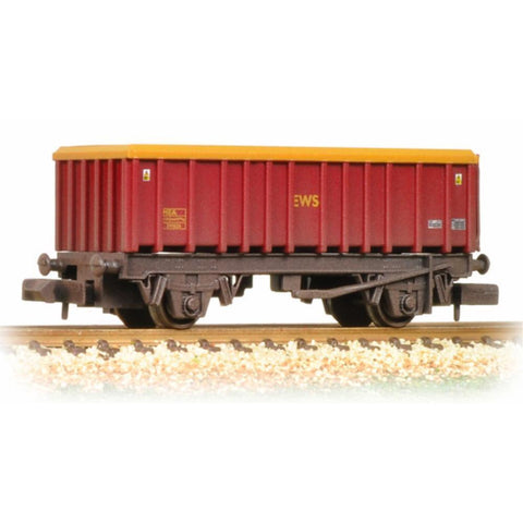 GRAHAM FARISH 46 Tonne glw MEA Open Mineral Wagon EWS Weathered : B-16May - Hearns Hobbies Melbourne - GRAHAM FARISH